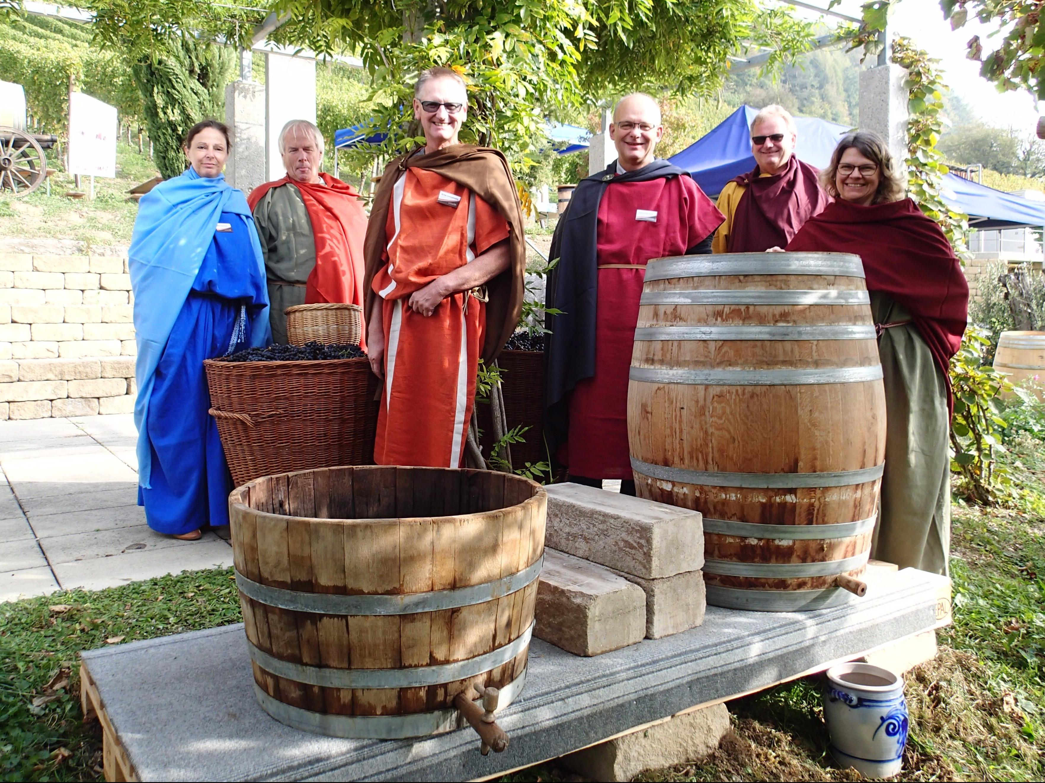 Römische Weinkultur lebt.